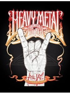 ECW Press   heavy metals without screaming