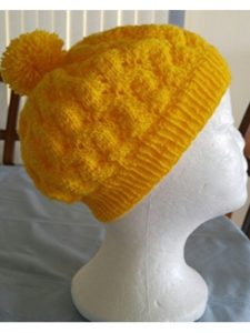 amazon    herringbone hat knitting patterns