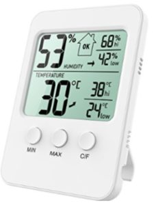 Oria house  humidity meters