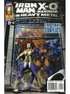 Marvel Comics - Back Issue American Comic - issue 1  heavy metals