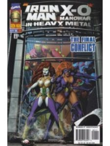 Marvel issue 1  heavy metals