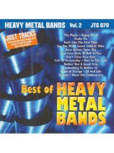 Pocketsongs CDG karaoke  heavy metals
