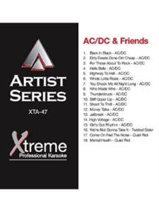 Xtreme / World Of Karaoke karaoke  heavy metals