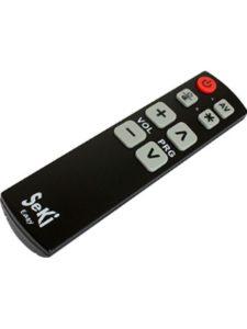 Seki large button  universal remote controls