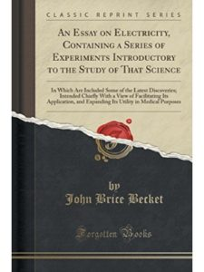 John Brice Becket latest  science experiments