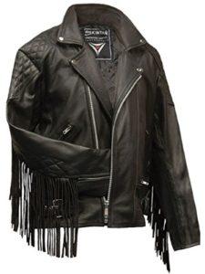 Skintan leather jacket  heavy metals