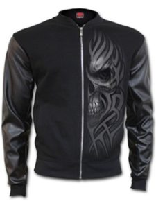Spiral Direct leather jacket  heavy metals