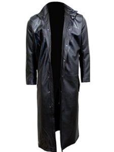 Spiral leather jacket  heavy metals