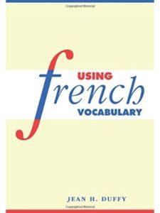 Cambridge University Press lesson  french vocabularies