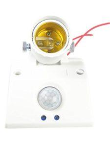 perfk light socket outdoor  motion detectors