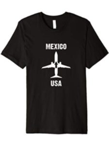 International Flyer Airplane Tees location  mexico cities