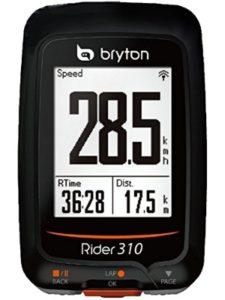 BRYTON log  gps speeds