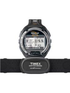 Timex Ironman log  gps speeds