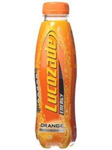 Lucozade drinks bottle