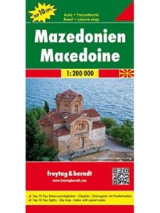 Freytag & Berndt    macedonia geography maps