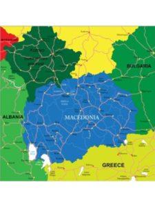 Posterlounge    macedonia geography maps