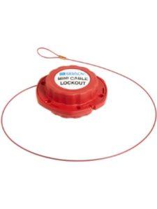 Brady mini lockout  cables