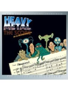 Film Score Monthly original soundtrack  heavy metals