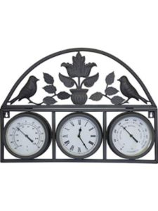Charles Bentley Garden outdoor decorative  wall thermometers