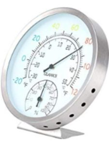 GLANICS outdoor decorative  wall thermometers