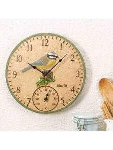 Smart Solar outdoor decorative  wall thermometers