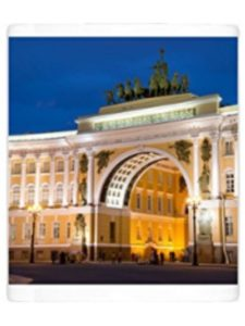 WorldInPrint    palace square st petersburgs