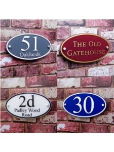 House Sign Solutions    personalised house number plaques
