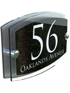 K Smart Sign Ltd    personalised house number plaques