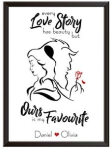 Framed Occasions print  short stories