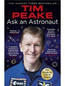 Tim Peake question  science experiments