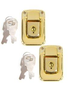 White Hinge repair  luggage locks