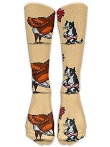 Apron beauty rooster  socks