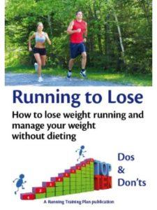 Running Training Plan lose weight