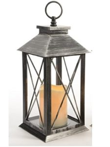 Kaemingk rustic  led lanterns