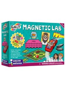 Galt Toys science experiment with magnet