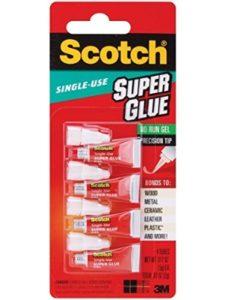 3M-CONSUMER HEALTH CARE    scotch super glue gels