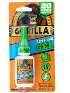 Gorilla Glue    scotch super glue gels