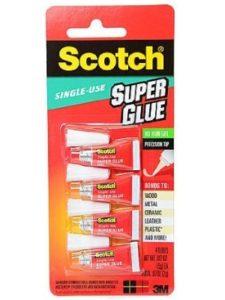 Scotch    scotch super glue gels