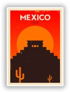 DestinationVinyl size  mexico cities