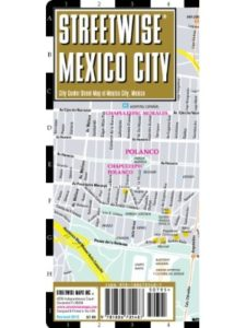 Streetwise Maps size  mexico cities