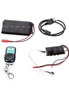 SummerYoung spy camera  tv remote controls