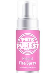 Pets Purest subscription  flea treatments