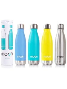 moon    thermos stainless steel water bottles