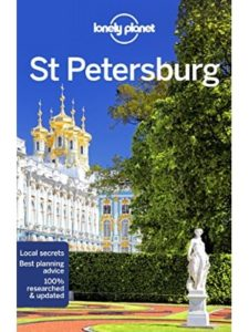 Lonely Planet tourist map  st petersburgs
