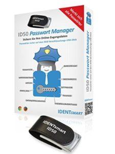 IDENTsmart usb stick  password managers