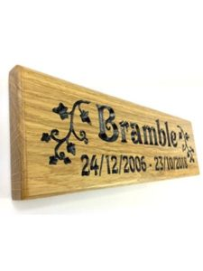 Bramble Signs victorian  house number plaques
