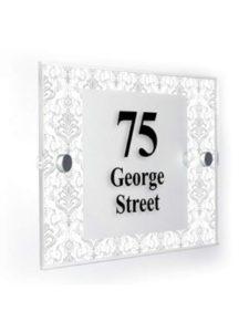 Premium Home Plaques victorian  house number plaques