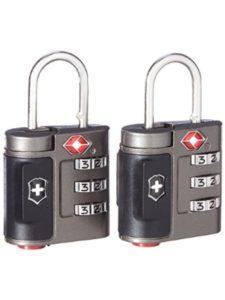 Victorinox luggage locks