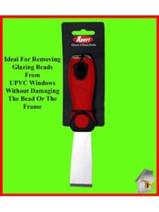 Xpert window removal tool  glazing putties