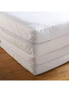 Textile King zip mattress cover  bed bugs